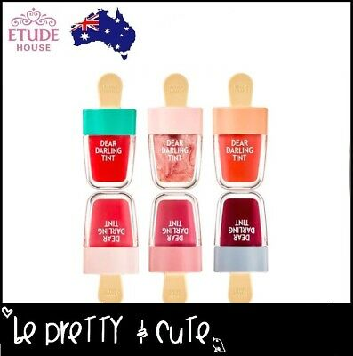 【ETUDE HOUSE】DEAR DARLING WATER GEL LIP TINT Ice Cream *NEW 2018 Lip Stain
