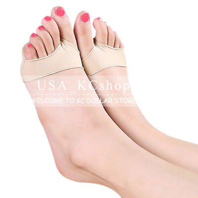 New Gel Ball of Foot Pain Cushions Pads Forefoot Metatarsal Support Sore Insoles