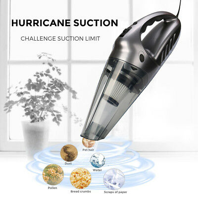 12V Hand Vacuum Cleaner,75dB Silent Pet Hair Vacuum for Home Kitchen 2018