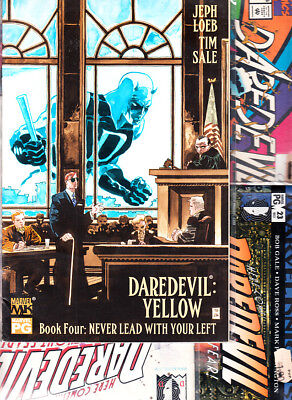 Marvel --   Daredevil  ( Lote . 5  . Numeros )  Marvel Original En  Ingles...