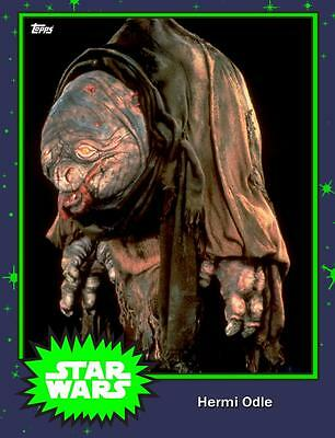 Topps Star Wars Card Trader Hermi Odle Mystery Base