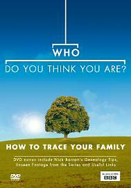Who Do You Think You Are? How To Trace Your Family Dvd New & Factory Sealed