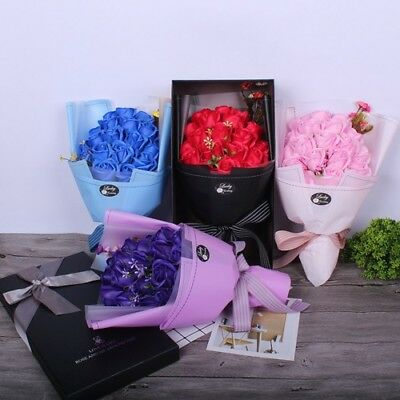 Flowers Bouquet Artificial Creative Special Occasion Gift Wedding Presents Soap