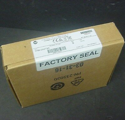 2016 New Sealed Allen Bradley 1756-EN2TSC B ControlLogix EtherNet/IP Secure VPN