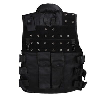 Tactical Military Vest Outdoor CS Equipment Field Protective Black Clothing
