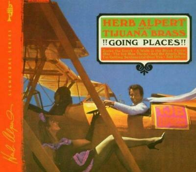 Herb Alpert And The Tijuana Brass – !!Going Places!! (New/Sealed) Cd
