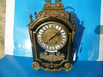 Stunning Compact Quality Highly Ornate French Bracket Clock Offers Welcome