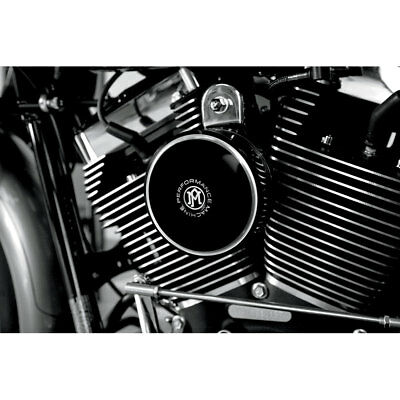 Performance Machine Contrast Cut Merc Horn Cover for 1991-2018 Harley
