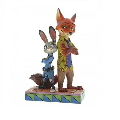 Disney Traditions 4057956 Partners In Crime-Fighting Judy and Nick Zootropolis