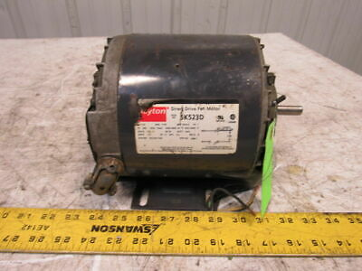 "60Hz Dayton Industrial Motor 3P 440V- Shaft 5//8X1-7//8/"" 2N101K 1//4Hp"