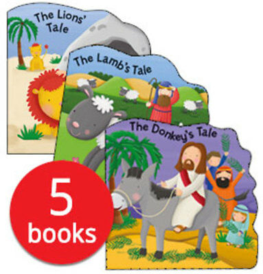 Bobbly Bible Tales Collection - 5 Books