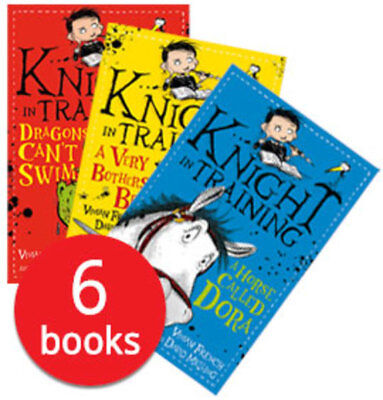 Knight in Training Collection - 6 Books