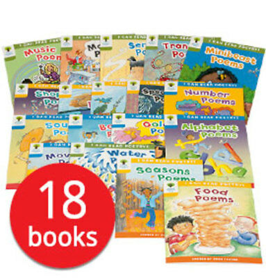 Oxford Reading Tree Poetry Collection - 18 Books