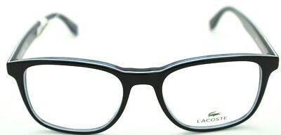 3de59b99318 NEW LACOSTE L2812 Eyeglasses 001 Black Blue 100% AUTHENTIC 52-18-145 ...