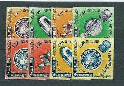 Arabia of the Sur Mail Yvert 65/72 without pinking Mnh