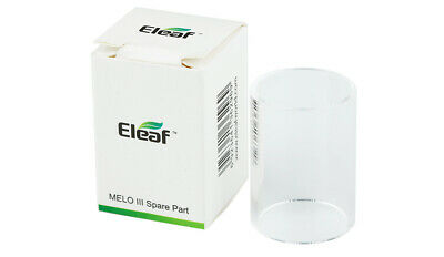 2pcs Original Eleaf glass tube for:  melo 4 4ml, melo 4 2ml