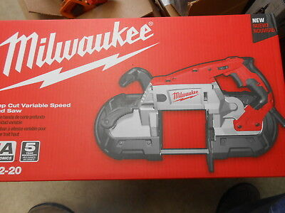 Milwaukee Deep Cut Portable Variable Speed Band Saw 6232-20 New (OFFC)