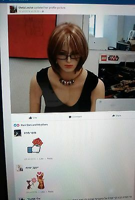 Shela Louise The World 's Most Famous Mannequin Sexy Security Decoy Sex Doll Xxx