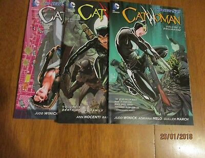 DC Catwoman Vol 4 (2011-2016) Collected Volumes 1 ,2 & 3