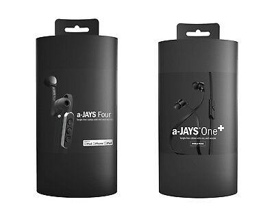 A-Jays One+ and Four Headsets