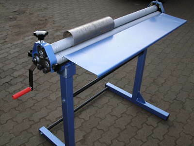 Sheet Metal Rolling Mill Bending Rolls Slip Rolls Rollers 1000mm/ 0.9mm capacity