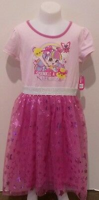 Shopkins Girls Dress Sprinkle A Little Magic Party Dress up New Pink Shiny
