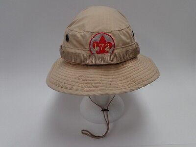 Boy Scout Boonie Hat Khaki With Troop 172 Patch Scout Master Bsa Hat