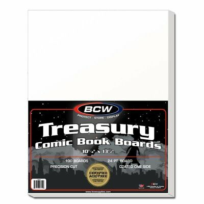 (100) Bcw Treasury Backing Boards