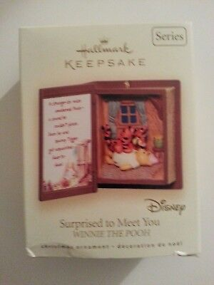 "HALLMARK KEEPSAKE ""Surprised To Meet You WINNIE THE POOH"""