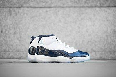 finest selection d159d 3c201 NIKE AIR JORDAN 11 Win Like 82 XI Retro Midnight Navy White Size 9.5 NEW IN  BOX