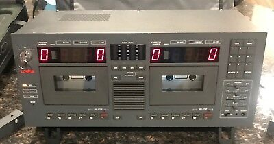 LANIER Advocate V LCR-5 4-Channel Cassette w/ Key and carrying case