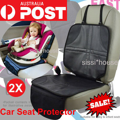 2x Car Baby Seat Protector Auto Infant Cover Child Seats AntiSlip Cushion Covers