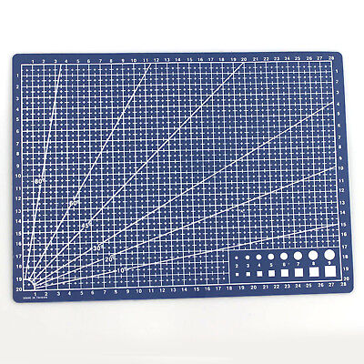 A4 PVC Self Healing Cutting Mat Craft Quilting Grid Lines Printed Board GT