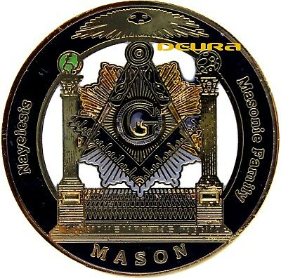 Masonic Family Nayelesis Master Mason Large Lapel Pin