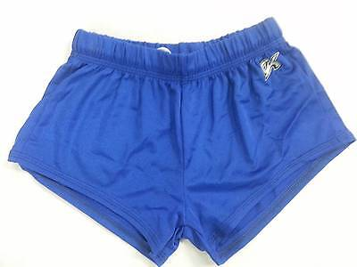 Gk Boys And Mens Gymnastic Shorts - Royal Blue - Size Child Med - Adult Large