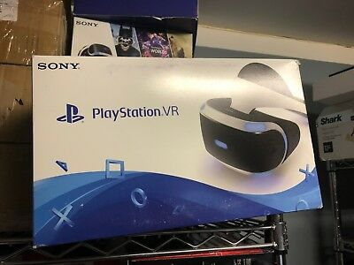 New Sealed Sony PlayStation VR Virtual Reality Headset For PS4 (CUH-ZVR1)