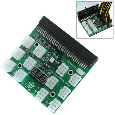 1200W/750W WATT POWER Supply Breakout Board for HP PSU GPU