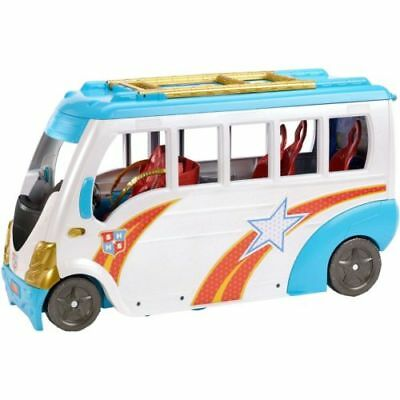 "DC Super Hero Girls Action Doll School Bus 12"" Transforming Play Set NEW SEALED"