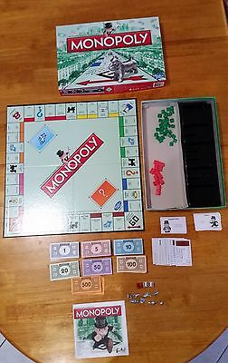 2013 Monopoly set HASBRO Edition including cat token
