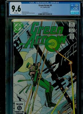 Green Arrow 4 CGC 9.6 NM+ Dick Giordano cover Mike W. Barr story DC Comics 1983
