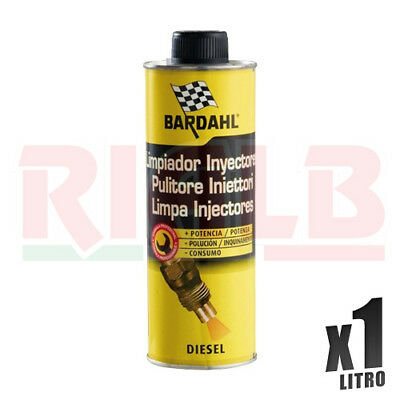 Additivo Auto Bardahl Diesel Injector Cleaner Iniettori 2 x 500 ml - 1 litro lt
