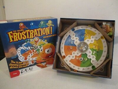Frustration Board Game By Hasbro - 100% Complete Vgc Hardly Played