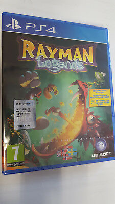 Gioco Rayman Legends Playstation 4 Ps4 Multilingua Game Videogame Nuovo
