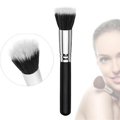 Makeup Cosmetic 187 Duo Fiber Stippling Mineral Blush Foundation Powder Brush w0