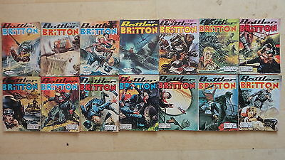 Lot De 14 Battler Britton N°166 182 187 239 260 300 313 338 350 351 360 365 Etc