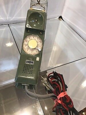 Linesman test Telephone, Vintage Nth Telecom  ,Olive Green in color EC.