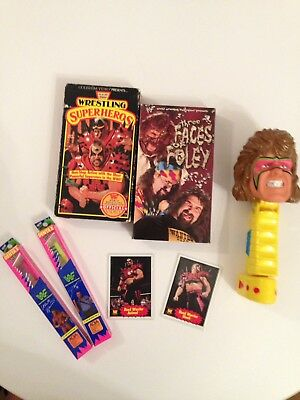 WWF Ultimate Warrior, The Legion of Doom, The Big Boss Man, Mick Foley