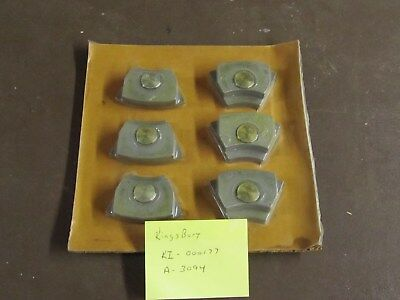 LOT OF 6 Kingsbury KI-000177 Thrust Shoes A-3094
