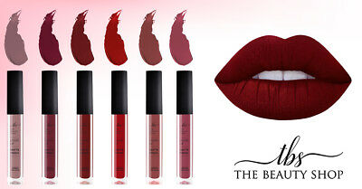 Matte Liquid Lipstick X 6 Pieces, Long Lasting, Superior Quality, Made In The Eu