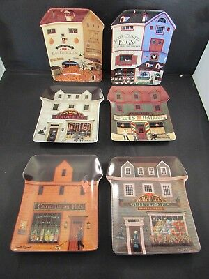 Charles Wysocki Collector Plates  Country Heartland  Set of 6    #4